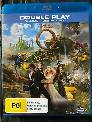 AU6.50 • Buy Oz The Great And Powerful - Blu-Ray - James Franco - Free Postage - Used