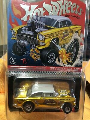 $45 • Buy 🏁hot Wheels 2019 Rlc Selections Dirty Blonde '55 Chevy Gasser