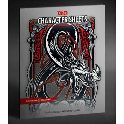 AU38 • Buy Dungeons & Dragons - 5th Edition - Character Sheets