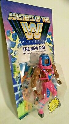 $20 • Buy 💥 Wrestling Masters Of The WWE Universe 🌎 THE NEW DAY Action Figure ⚡️ Wave 3