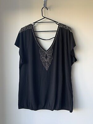 AU7.50 • Buy CITY CHIC Women's TOP Size LARGE Great Condition