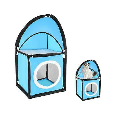 Cat Tower Tree Post Scratching Activity Climbing Kitten Centre Toy Play House • 8.89£