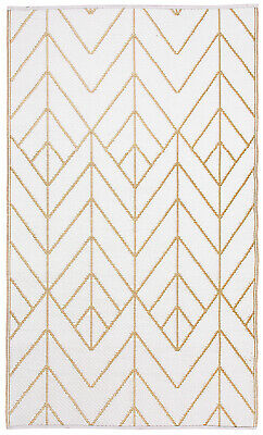 AU99.90 • Buy Recycled Plastic Outdoor Rug And Mat Reversible Waterproof Sydney Gold And Cream