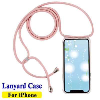 Lanyard Case Cover Holder Necklace Strap Neck Rope Cord For IPhone 6 7 8 Plus • 5.95£