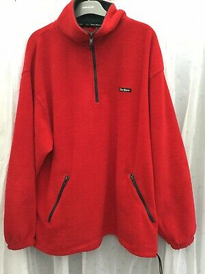 Peter Storm- Mens Red Thick Fleece-Size L • 1.50£