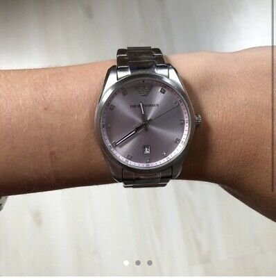 Armani Women's Watch. Slight Scratches, No Spare Links And Needs New Battery. • 65£