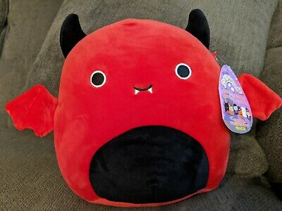 $ CDN30 • Buy Squishmallows Halloween Exclusive 8  Inch Dante Red Devil Bat Wing 2020 Fall HTF