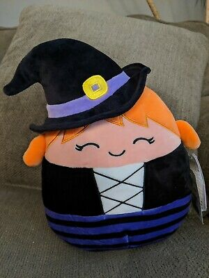 $ CDN30 • Buy Squishmallows Halloween 8  Inch Exclusive Whitney Witch Warlock Fall 2020 HTF