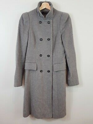 AU75 • Buy [ ZARA ] Womens Grey Coat / Jacket  | Size AU 8 Or US 4