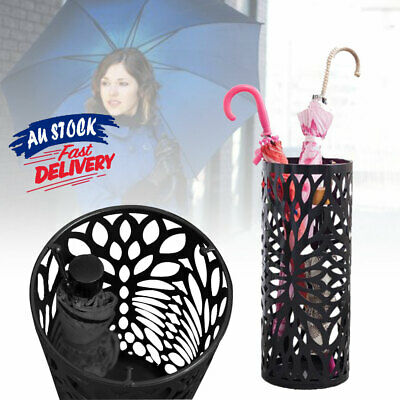 AU29.99 • Buy Storage Walking Cane Umbrella Stand Steel Umbrella Container Holder ACB#