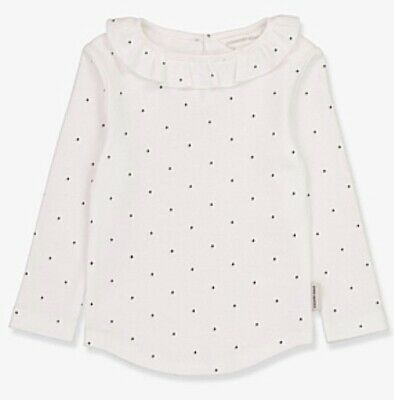 AU10 • Buy COUNTRY ROAD - Pin Dot Frill Top - 3-6 Months - White - RRP $25