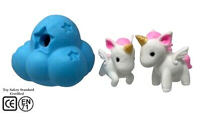 AU21.71 • Buy Keycraft Stretchy Unicorn & Rainbow Cloud Soft Squishy Toys