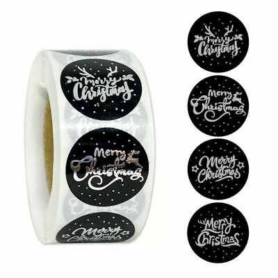 Merry Christmas Happy Xmas Thank You Labels Stickers Gift Craft Box Love Sticker • 1.89£