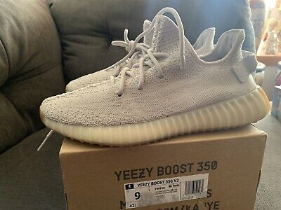 $ CDN287.46 • Buy Adidas Yeezy Boost 350 V2 Sesame US Men Size 9 AMAZING CONDITION VNDS VERY CLEAN