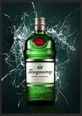 Tanqueray Gin Metal Sign Pub Shed Garage Plaque Bar Man Cave Home Retro Decor • 4.99£
