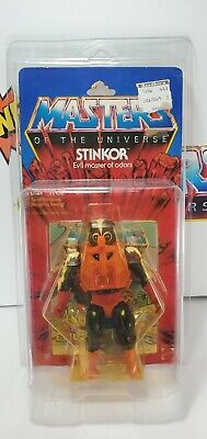 $190 • Buy MOTU, 1984 Stinkor, Figure, Masters Of The Universe, MOC, Carded, He Man, Sealed