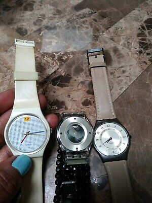 $ CDN33.50 • Buy Vintage Mixed Lot 3 Swatch Watches