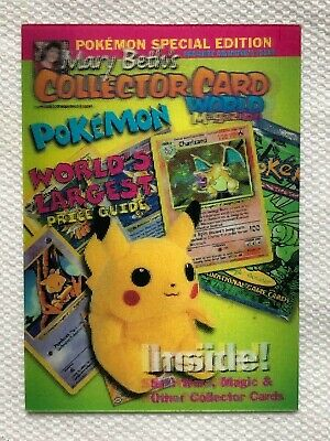 $11.99 • Buy Pokemon Mary Beth's Collector Card Lenticular 3D 1999 Pikachu Special Edition