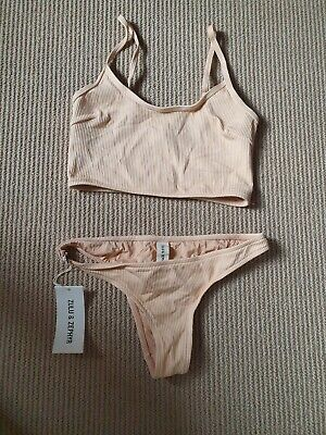 AU40 • Buy Zulu And Zephyr Tanlines Tank Bikini Size 10 Brand New With Tags