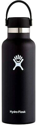 $27.86 • Buy Hydro Flask 24 Oz Double Wall Stainless/ Standard Mouth Water Bottle & Flex Cap