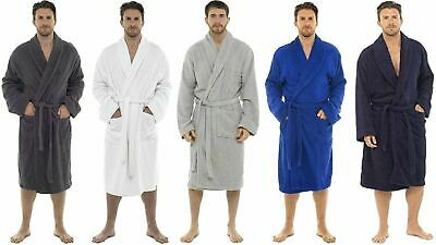 £25.71 • Buy CityComfort Towelling Robe 100% Cotton Bathrobe Dressing Gown For Men