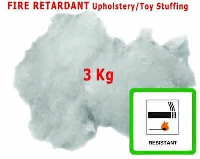 £13.99 • Buy 3KG Upholstery Stuffing For Toy Cushions Fibre Polyester All Crafts Hollowfibre