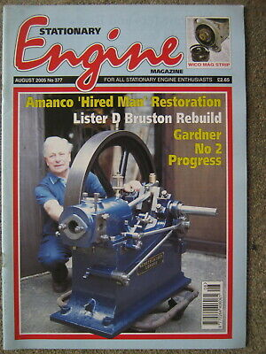 £3.99 • Buy Stationary Engine August 2005 Gardner No 2 Wolseley WD2 Amanco Hired Man Lister