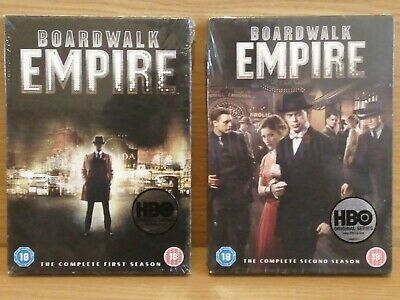 BOARDWALK EMPIRE, THE COMPLETE FIRST & SECOND SEASONS, New & Sealed  • 11£