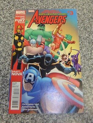 Earths Mightiest Heroes  The Avengers  # 3 August 2012 Marvel Comics • 8.50£