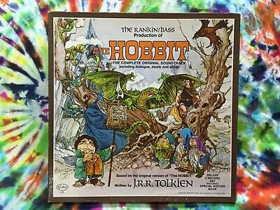 $225 • Buy Rankin / Bass Production Of The Hobbit Complete 2 X LP Box Set 1977 Poster Boo !