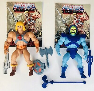 $44.99 • Buy Mattel MOTU Origins HE-MAN SKELETOR Lot 100% Complete Masters Of The Universe