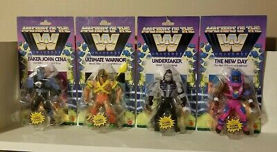 $115 • Buy WWE MOTU Masters Of The Universe Ultimate Warrior, Undertaker, Faker And New Day