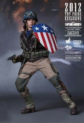 $ CDN886.27 • Buy Hot Toys 1/6 Captain America (Sideshow Exclusive) Rescue Uniform Version (NEW)