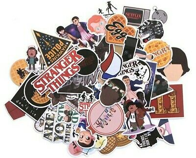 AU10.50 • Buy 66 Pieces Stranger Things Sticker Pack