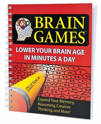 $3.60 • Buy Brain Games #3: Lower Your Brain Age In Minutes A Day (Volume 3)