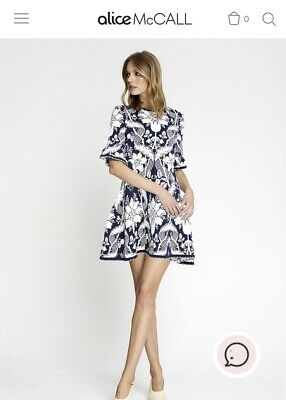 AU180 • Buy Alice Mccall Sittin Pretty Mini Dress, Size 10. NWOT Current Collection Rrp$395