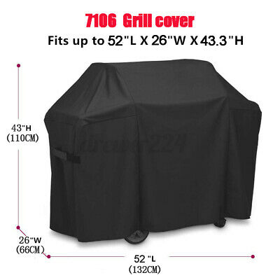 $ CDN31.27 • Buy BBQ Grill Cover Premium Gas Gril Protective For Weber 7106 Spirit 220/300