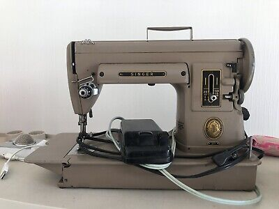 $250 • Buy Vintage Singer 301A Big Sister Featherweight Sewing Machine