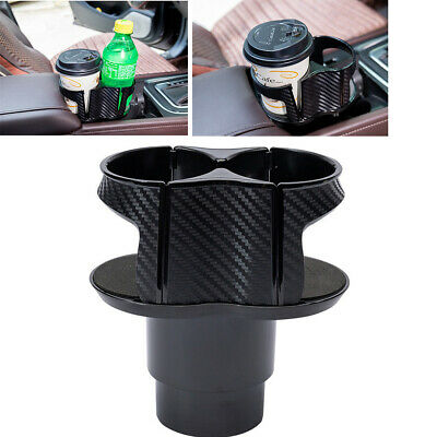 $14.62 • Buy  ABS Universal Dual Car Cup Holder Storage Drinking Bottle Mug Mount Stand