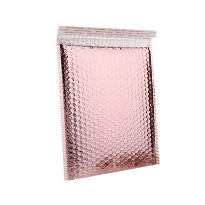 AU9.30 • Buy 15PCS 15 X 13 + 4cm Rose Gold Bubble Envelope Waterproof Foil Bubble Mailer B4D1