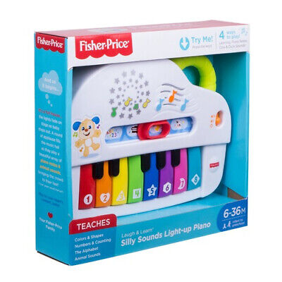£18.99 • Buy Fisher-Price Laugh & Learn Light Up Piano Toy