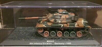 DeAGOSTINI M60A3. 5th Infantry Division. COMBAT TANK 1/72 DIECAST  037A • 4£
