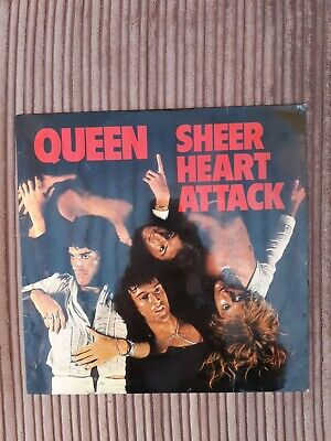 Queen ' Sheer Heart Attack ' Vinyl LP  UK EMC 3061  3U  4U  Matrix  • 15.99£