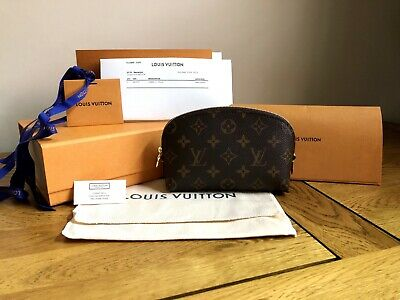 Louis Vuitton - Cosmetic Pouch Toiletry Bag PM - Monogram - Brand New - M47515 • 365£