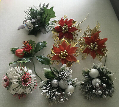 $ CDN17.04 • Buy Vintage Or Style Christmas Decorations