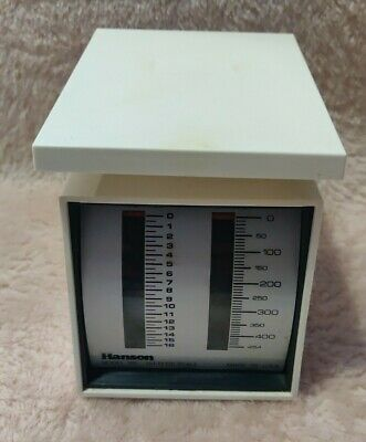 Vintage Hanson Dietetic Scale, Model 185, Up To 16 Oz. & 454 Grams • 6.93£
