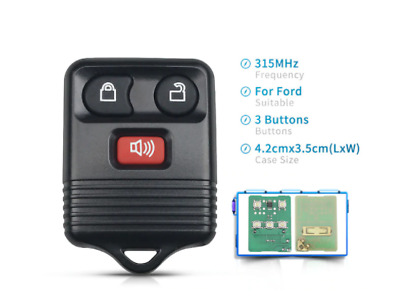 AU12.95 • Buy Remote Control Keyless Fob For Ford Escape Ford Explorer & Mazda Tribute 315Mhz