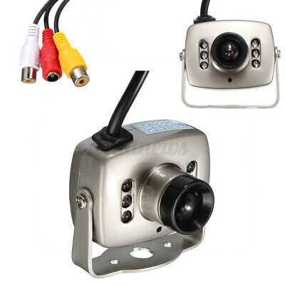 £11.39 • Buy IR Wire Mini HD CCTV Camera Security Color Night Vision Infrared Video Recorder