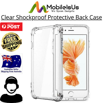 AU3.95 • Buy Clear Shockproof Protective Bumper Back Case Cover For IPhone 6 Plus 7 7+ 8 X XS