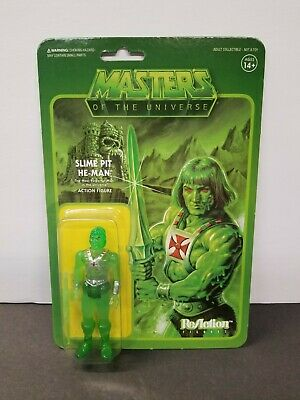 $30 • Buy New Rare Vhtf Super7 Reaction Slime Pit He-man Masters Of The Universe Motu